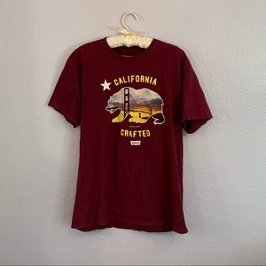 LEVIS California Crafted Graphic Tee Golden Gate